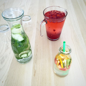Hydrate in style: flavored waters