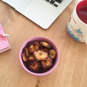 Baked cinnamon plantains