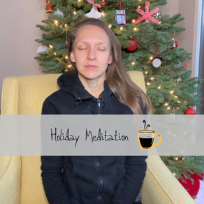 Cozy Sunday Meditation - Holiday Edition