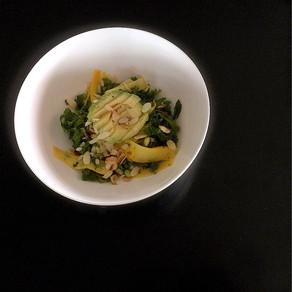 Zucchini spring salad