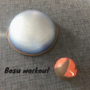 How to exercise with a bosu