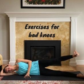Exercises for bad knees for #selflovejanuary