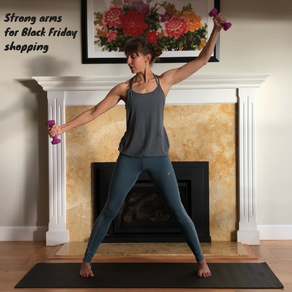Strong arms for Black Friday shopping - exercise with me!