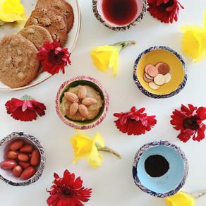 Persian raisin cookies