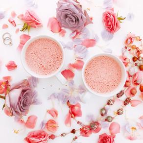 Pink lattes