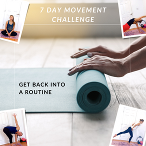 Let's Get Back Into A Routine Together!
