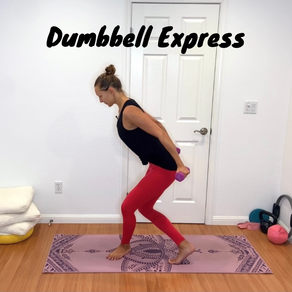 Full Body Workout With Light Dumbbells