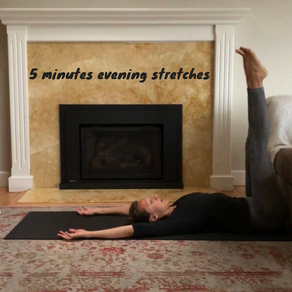 New exercise video: 5 minutes evening stretches