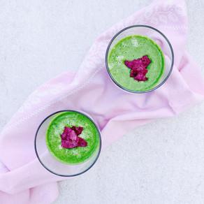 Lemon green smoothie
