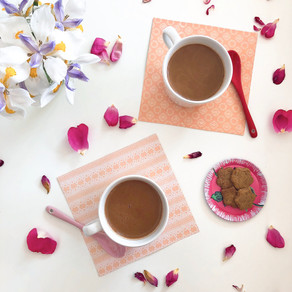 Stress reducing hot chocolate