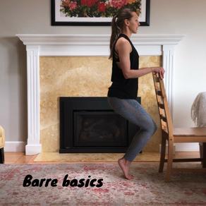 Barre basics video