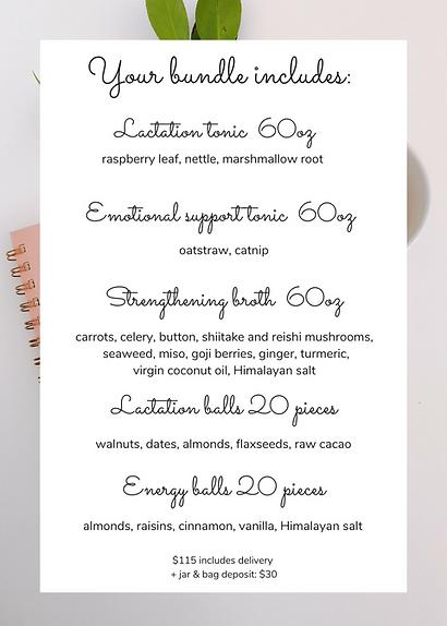 Post-natal recovery bundle   www.martina
