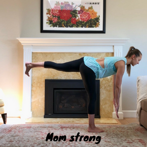 Mom strong exercise video