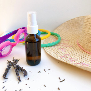 Post-swim spray for your skin and hair