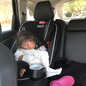 Car seat disaster and why I stopped parenting after 9am