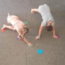 30PCS-6-Colors-Carpet-Signs-Sitting-Dots