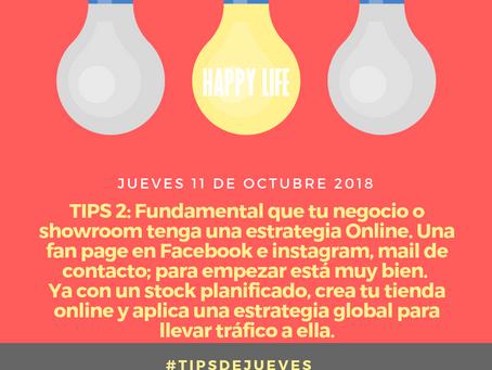Tips de jueves 25 de octubre