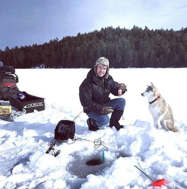 There is no point going Ice fishing with