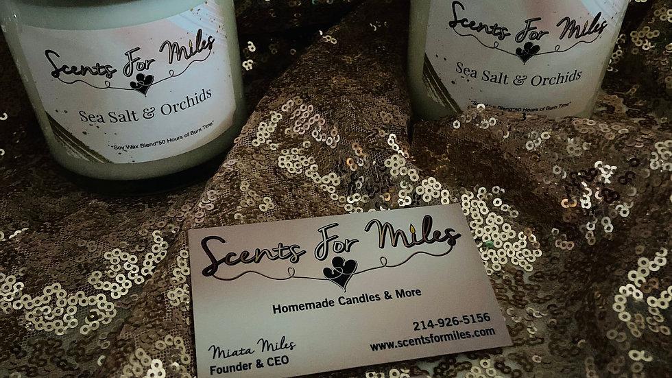 Sea Salt & Orchids