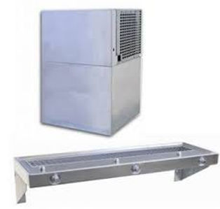 Cooling unit +counter