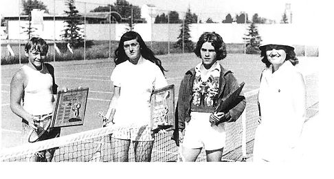 High River Tennis 1970