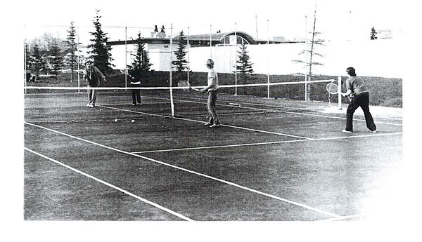 Hgh River Tennis 1970