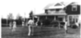 High River Lawn tennis 1930