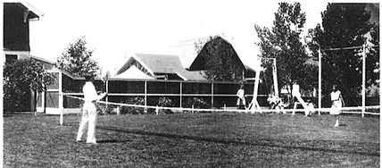 High River Tennis 1930