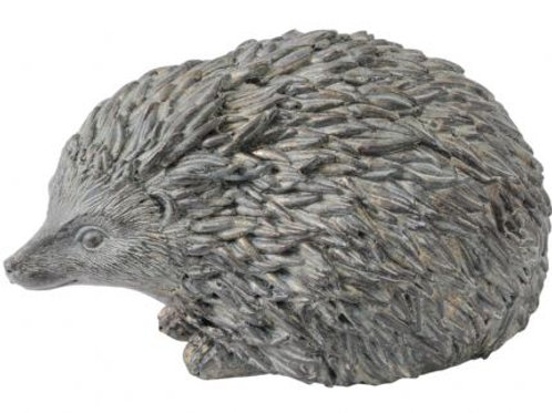 Verdigris Hedgehog Sculpture