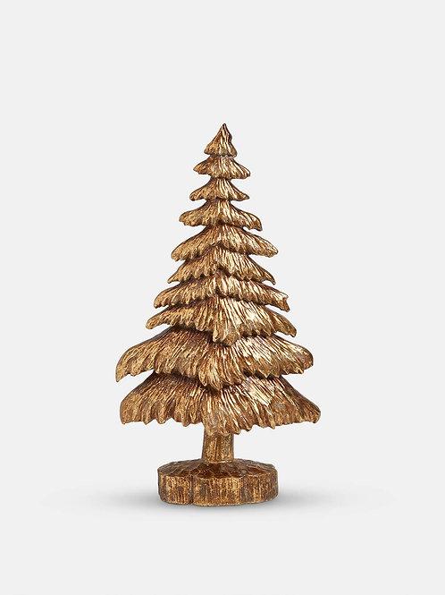 Medium Gold Decorative Christmas Tree