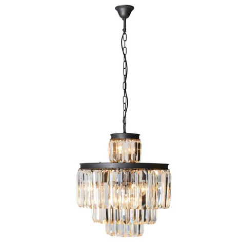 Multi Tiered Crystal Chandelier