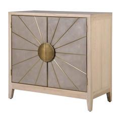 2 Door Sunburst Cabinet