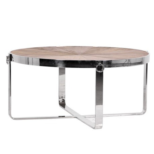 Round Coffee Table Steel Frame