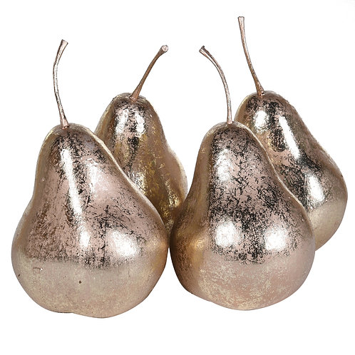 Set of 4 Golden Pears