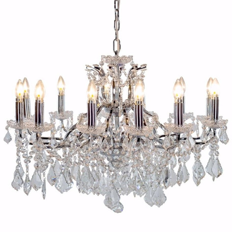6,8 and 12 Arm Shallow Chandeliers