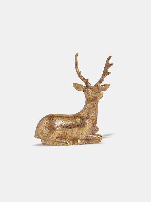 Gold 14cm Deer