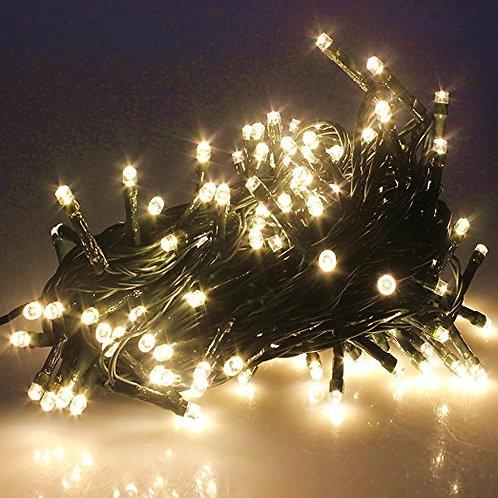 200 LED Warm White Indoor Fairy Lights