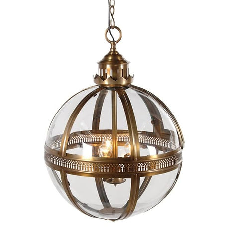 Bronze Glass Ball Light.jpg