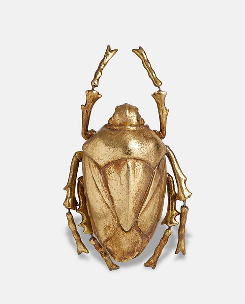 Gold Beetle Wall Décor