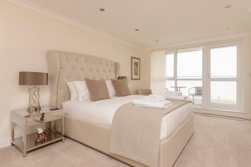 Coastal Let Master Bedroom