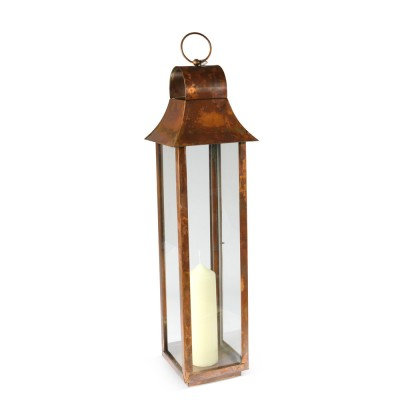 Burnished Copper Lanterns - Medium
