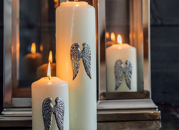 Set of Three Angel Wing Candle Pins