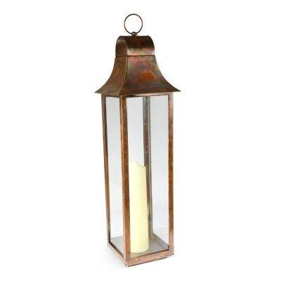 Burnished Copper Lanterns - Large