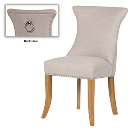 Ivory Stud Dining Chair