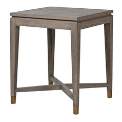 Oak Square Side Table