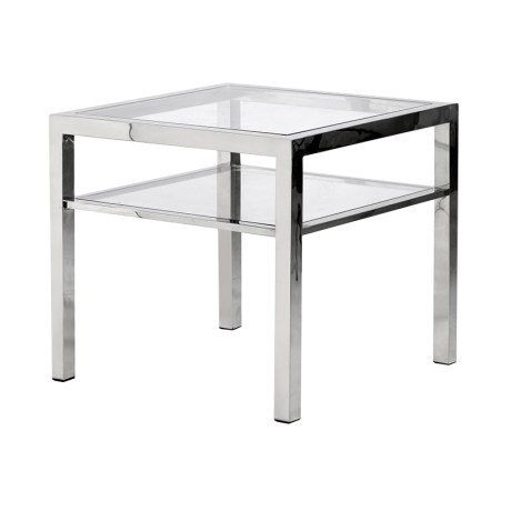 Steel Square Side Table