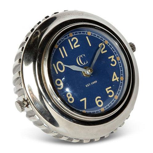 Fiorano Desk Clock - Ribbed