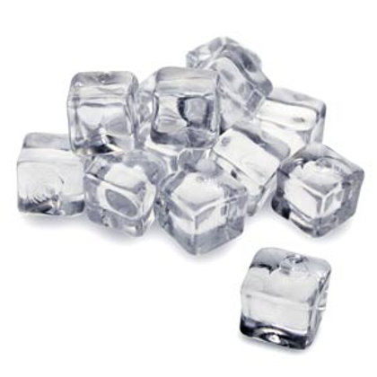 Pack of 25 Acrylic Ice Cubes