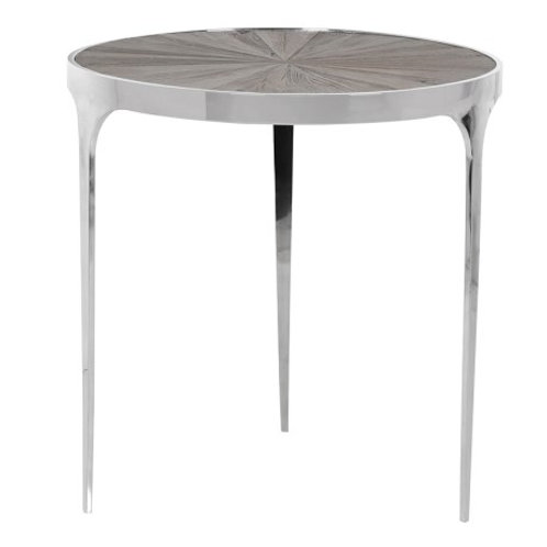 Steel and Elm Table