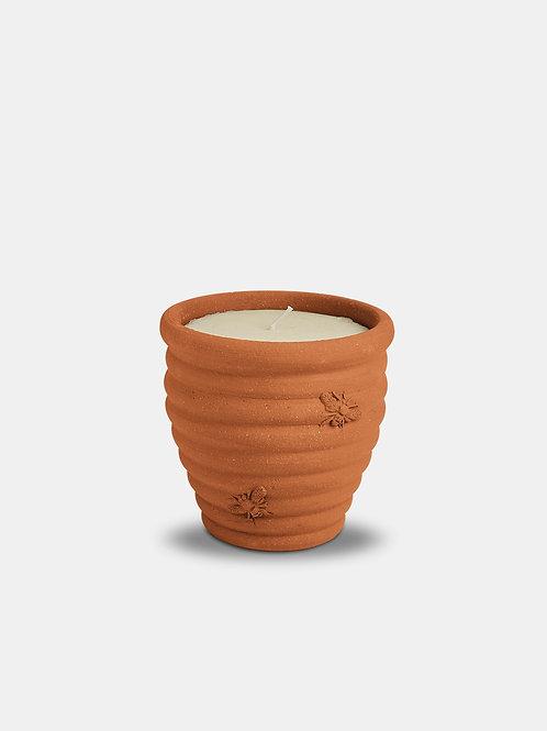 Single Wick Terracota Candle